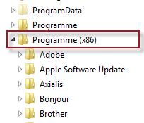 Programme Verzeichnis